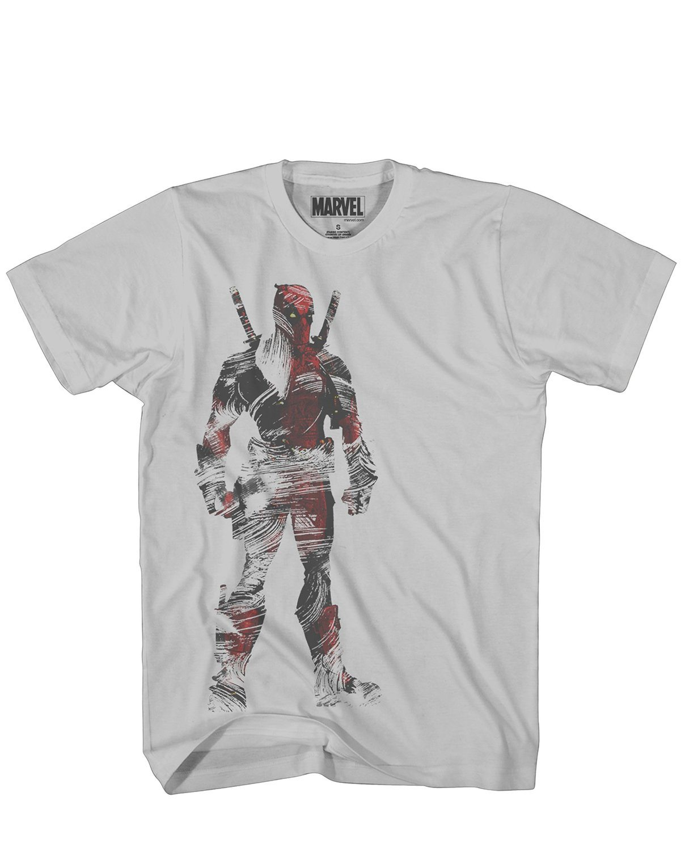 Marvel Comics Deadpool Dead Tundra Men's Silver
