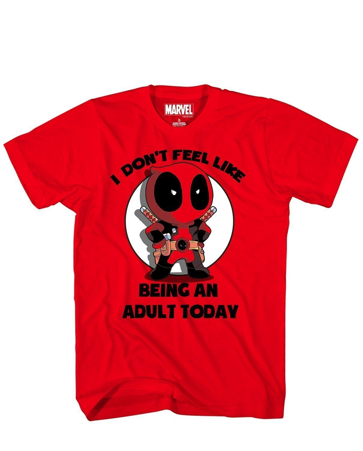 MarvelDeadpool – I Don't Feel Like Being An Adult Today