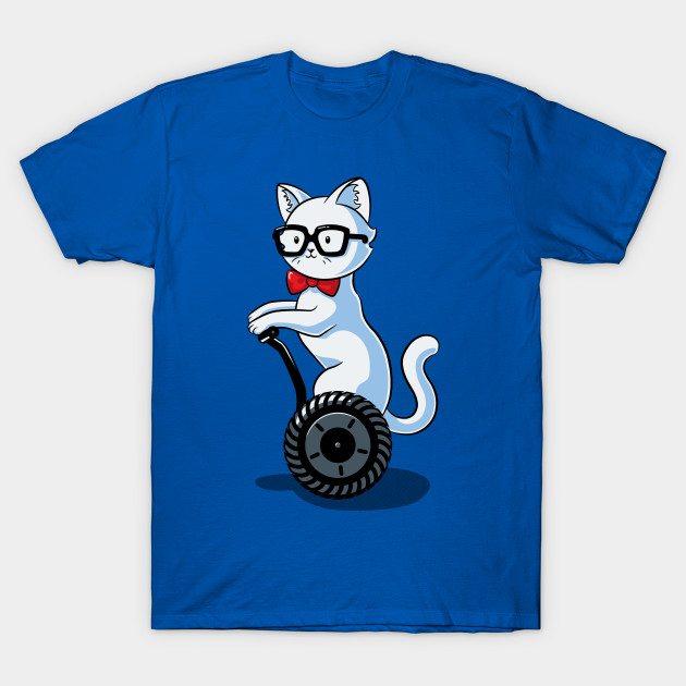 Nerdy Cat T-Shirt