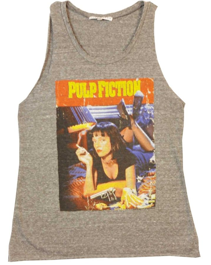 Pulp Fiction Cover Art Uma Thurman Tank T-Shirt
