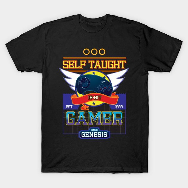 Self Taught Gamer since The Genesis (Full Color)