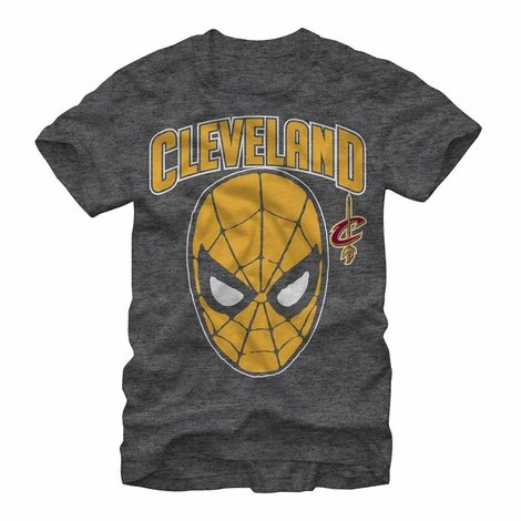 Spiderman Cleveland Cavaliers Mask