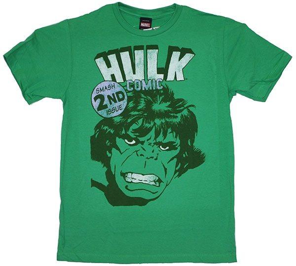 The Incredible Hulk Comic Book Cover T-Shirt