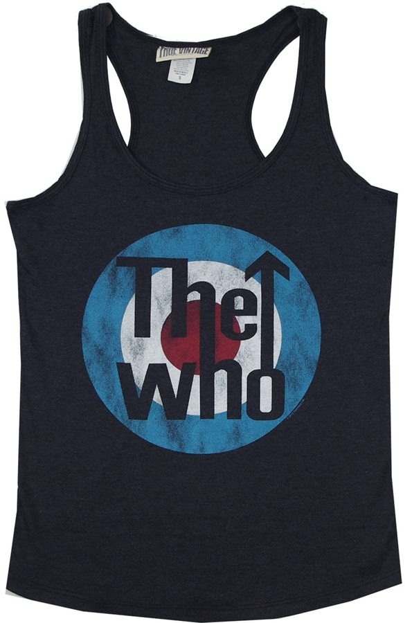 The Who Womens Target Tank Top