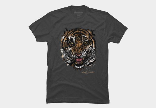 Tiger Face (Signature Design)