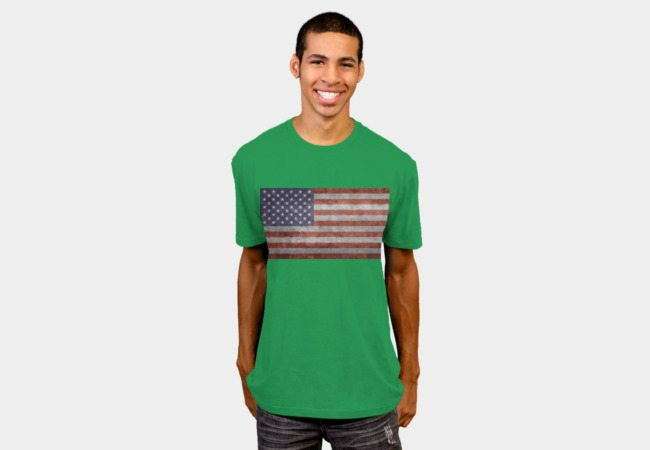 USA flag – vintage retrostyle