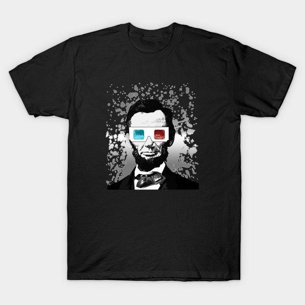 Abraham Lincoln – 3D (2) T-Shirt