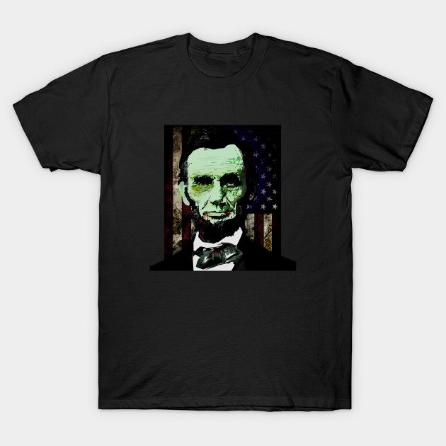 Abraham Lincoln – Zombie T-Shirt