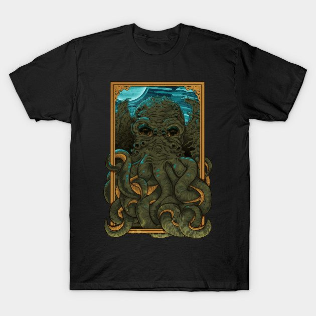 Answer the Call of Cthulhu T-Shirt