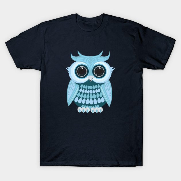Baby Blue Owl T-Shirt