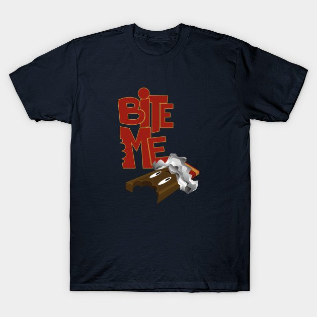 Bite Me – Chocolate Bar T-Shirt
