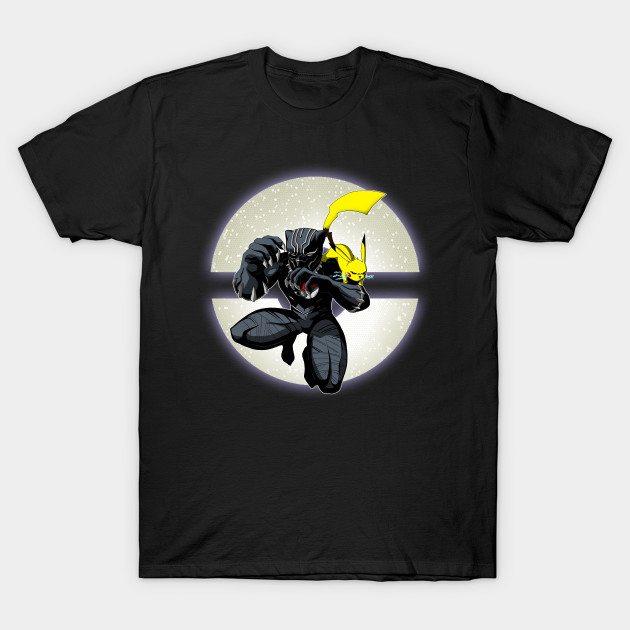 Black Panther Go T-Shirt