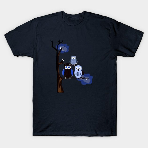 Blue Owls T-Shirt