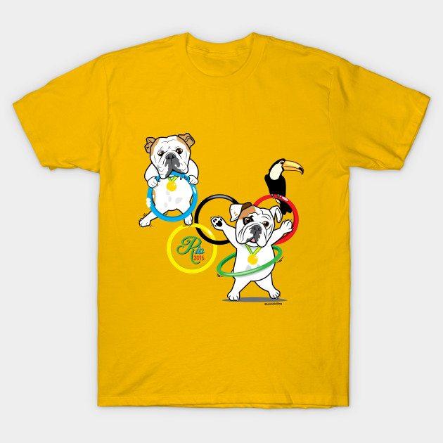 Bulldog Olympics T-Shirt