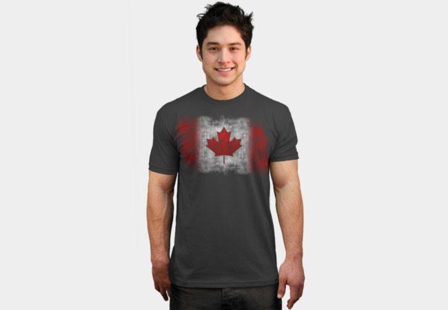 Canada Flag – Grunge