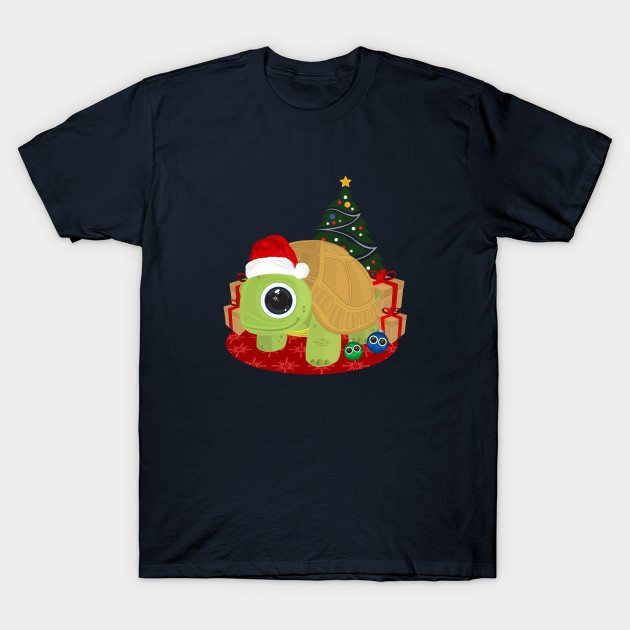 Christmas – Turtle T-Shirt