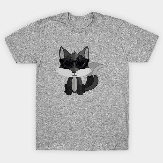 Cool Fox – Grey T-Shirt