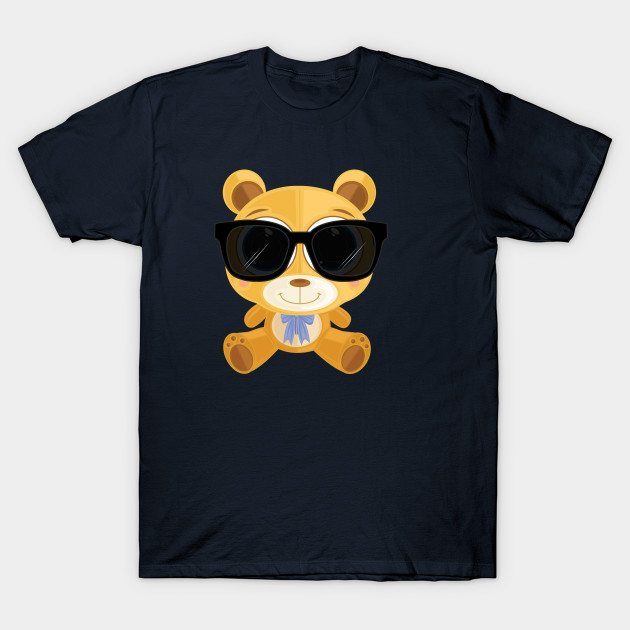 Cool Teddy Bear T-Shirt