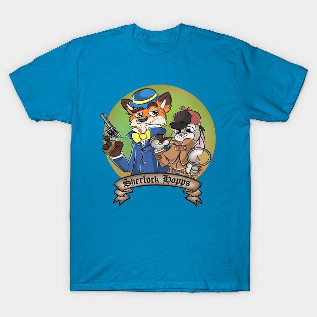 Detective Sherlock Hopps T-Shirt