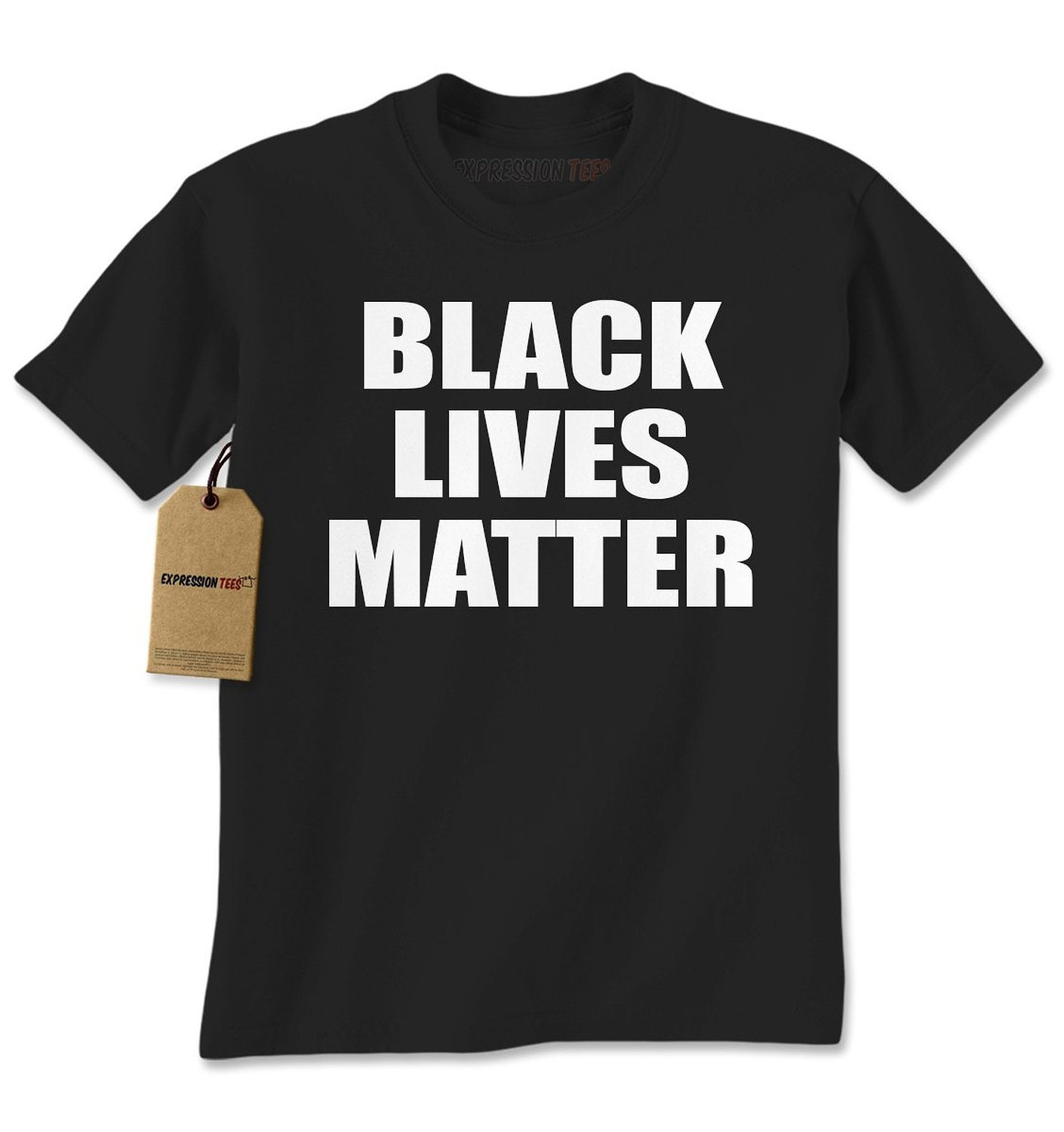 Expression Tees Black Lives Matter Civil Rights For All Mens