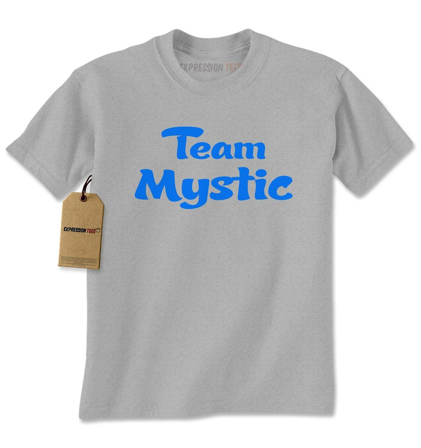 Expression Tees Team Mystic – Represent Your GO Faction Mens