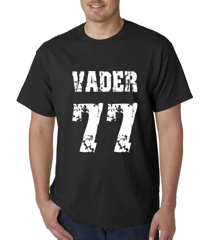 Expression Tees Vader '77 Movie Theme Mens
