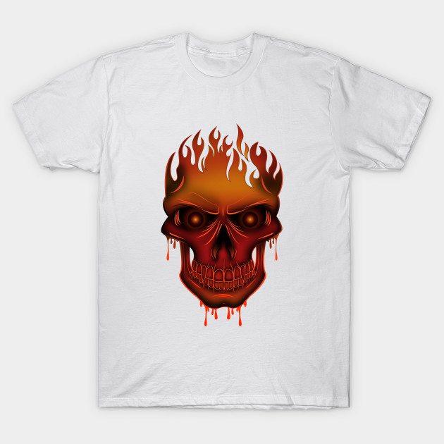 Flame Skull T-Shirt