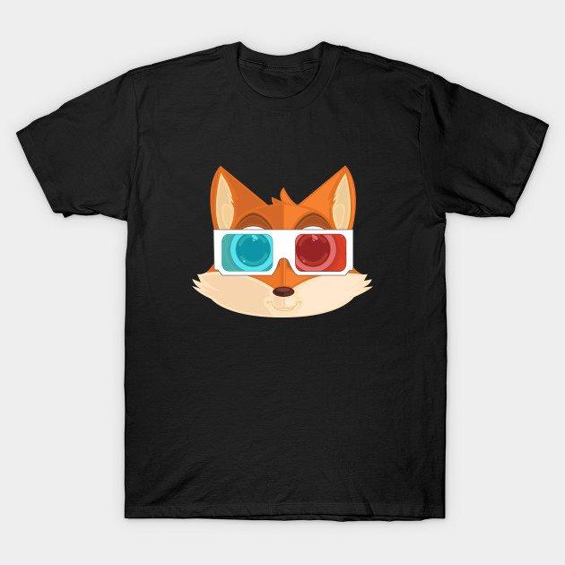 Fox – 3D T-Shirt