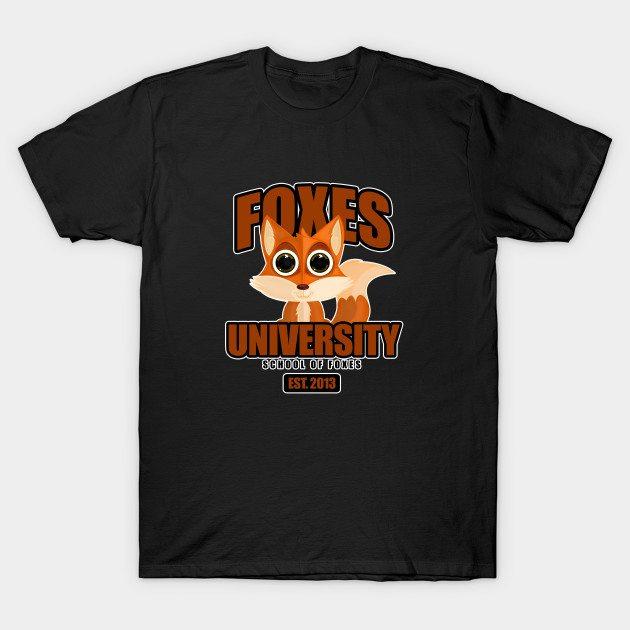 Foxes University T-Shirt