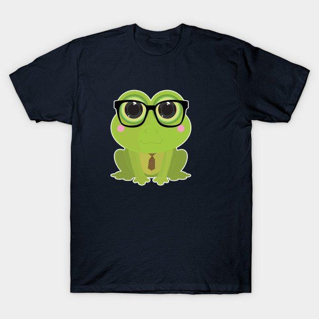 Frog Nerd T-Shirt