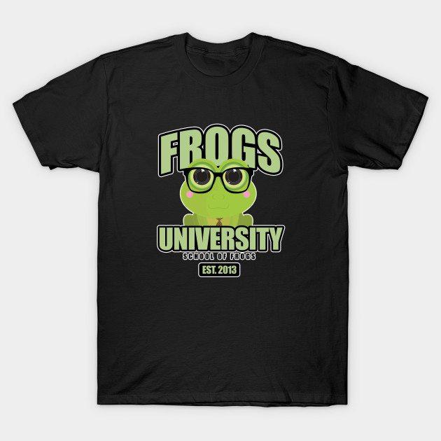Frogs University T-Shirt