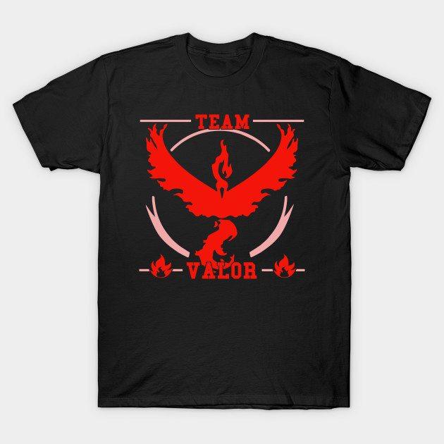 GO Team Valor T-Shirt