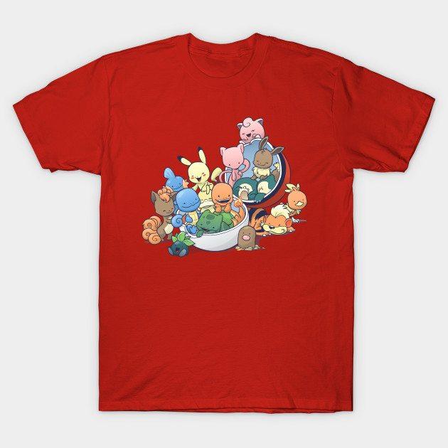 Gotta Fit Them All T-Shirt