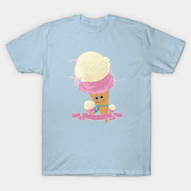 Happy Ice Cream Cone T-Shirt
