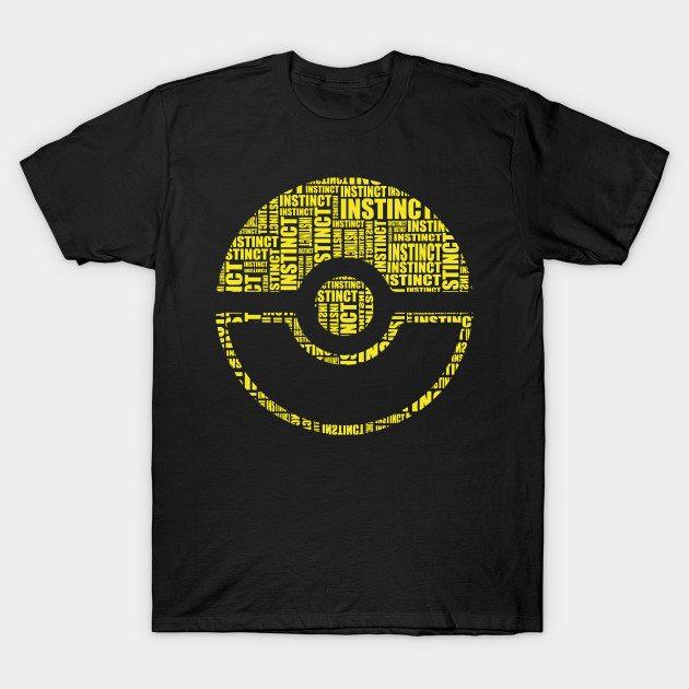 INSTINCT POKEBALL TEAM T-Shirt