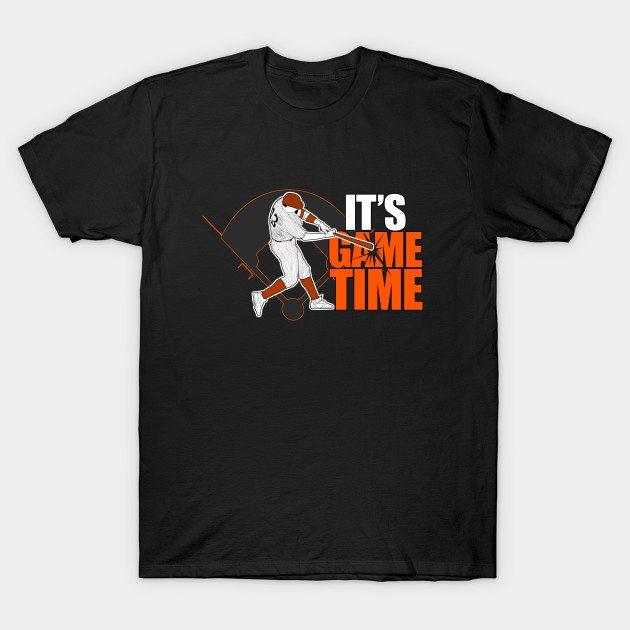 It's Game Time – Baseball (Orange) T-Shirt