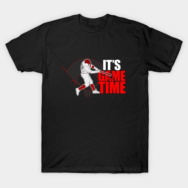 It's Game Time – Baseball (Red) T-Shirt