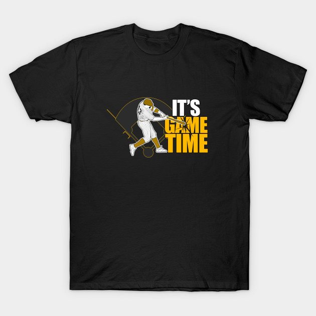It's Game Time – Baseball (Yellow) T-Shirt