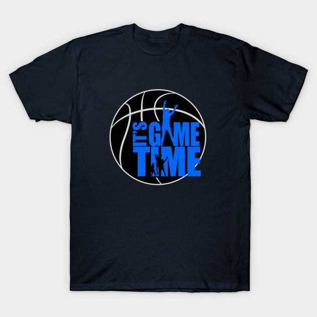 It's Game Time – Blue T-Shirt