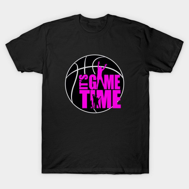 It's Game Time – Pink T-Shirt