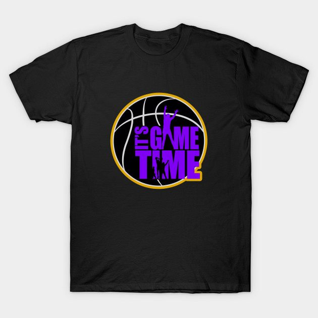 It's Game Time – Purple & Gold T-Shirt