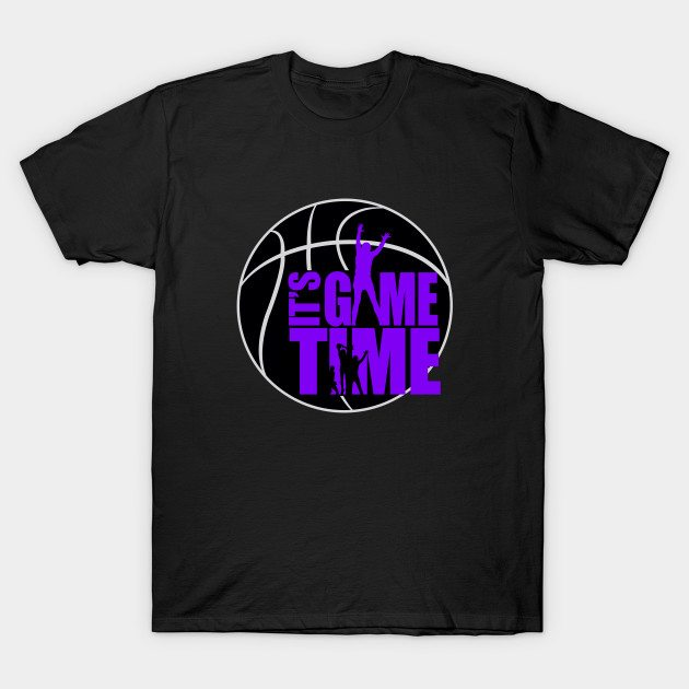It's Game Time – Purple T-Shirt