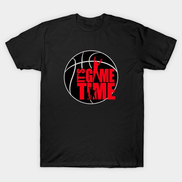 It's Game Time – Red T-Shirt