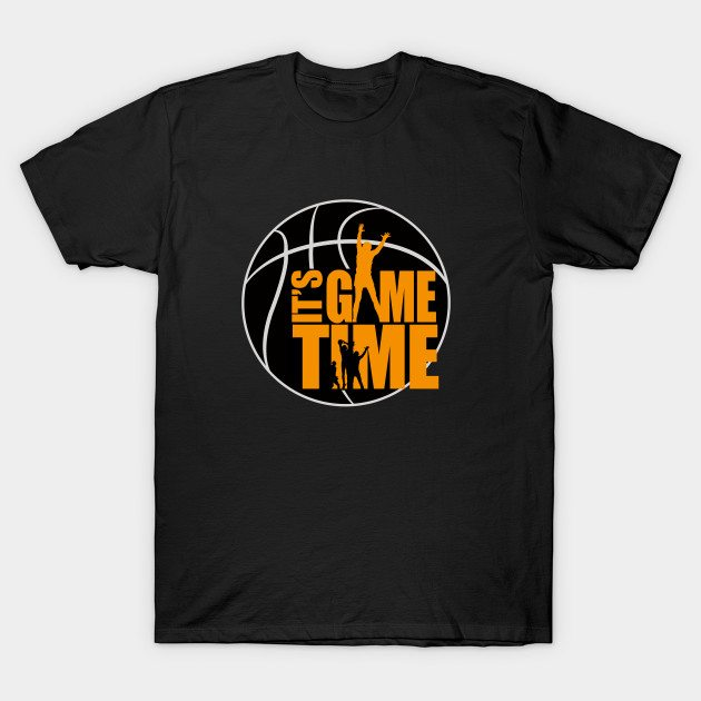 It's Game Time – Yellow T-Shirt