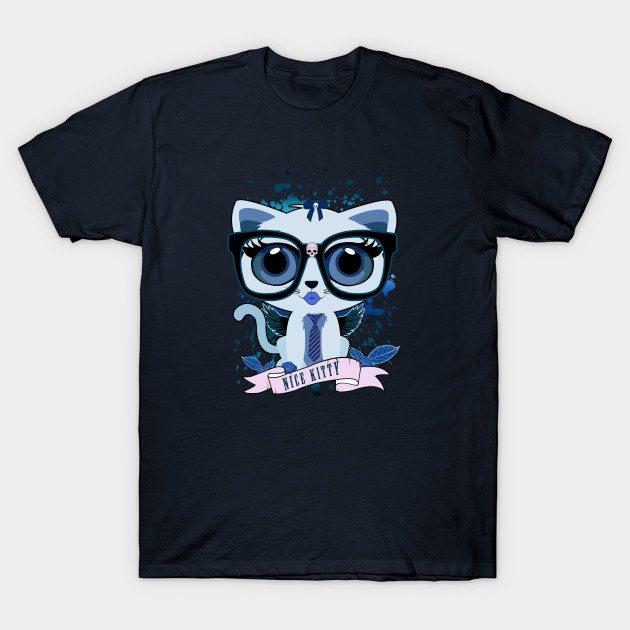 Kitten Nerd T-Shirt
