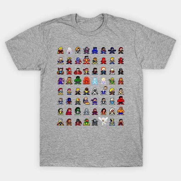 Marvelous 8-bit T-Shirt