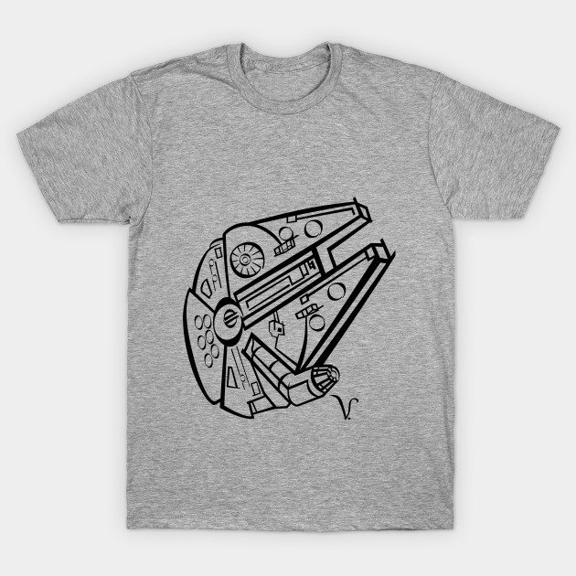 Millennium Falcon [Artist Rendering 1] T-Shirt