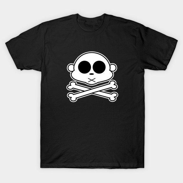 Monkey Cross Bone T-Shirt