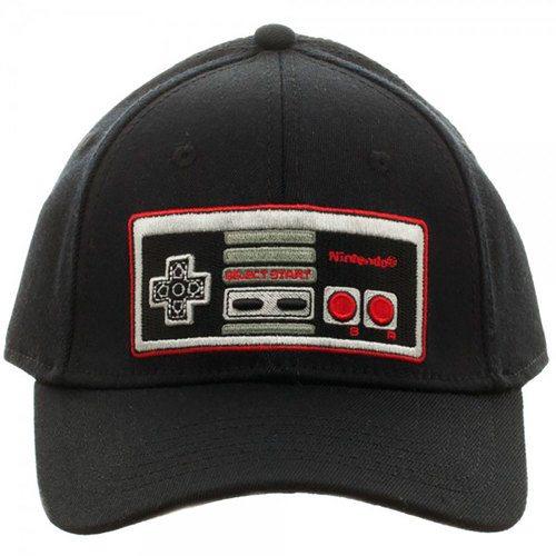 nintendo-video-game-controller-flex-cap-hat-75667 120df14fdd1
