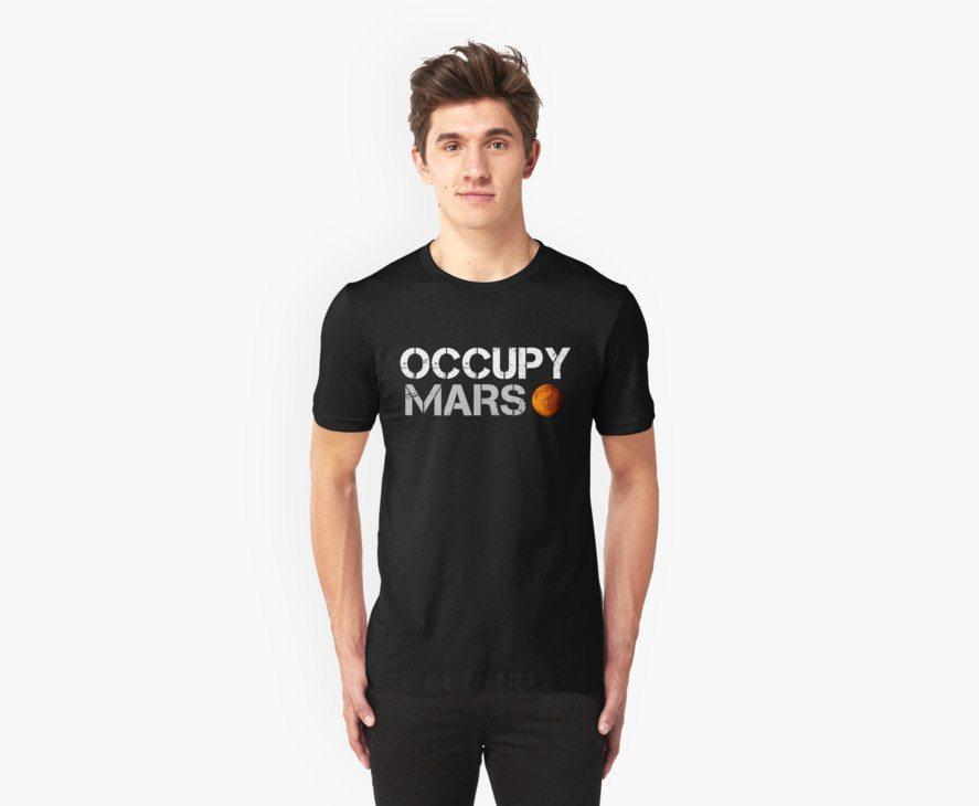Occupy Mars Black